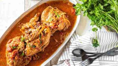 Photo of Chicken Cacciatore Instant Pot Recipe in 2020